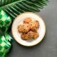 Choco Chip Almond Cookies