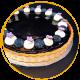Blueberries Cheesy Tart 8″