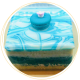 Dreamy Blues cake